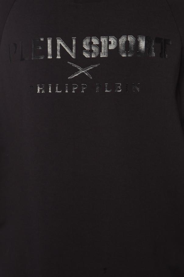 Bluza z kapturem z logo od Plein Sport