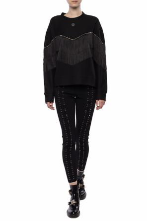 Fringed sweatshirt od Philipp Plein