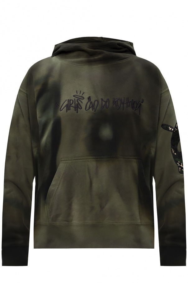 Zadig & Voltaire Patched hoodie