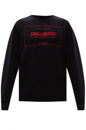 Sweatshirt with logo od Zadig & Voltaire