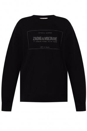Sweatshirt with logo od Zadig & Voltaire
