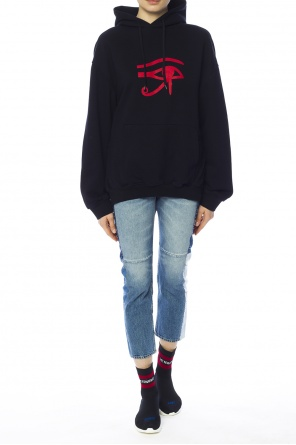 Oversize hooded sweatshirt od Vetements