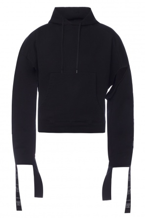 Hooded sweatshirt with slits od Vetements