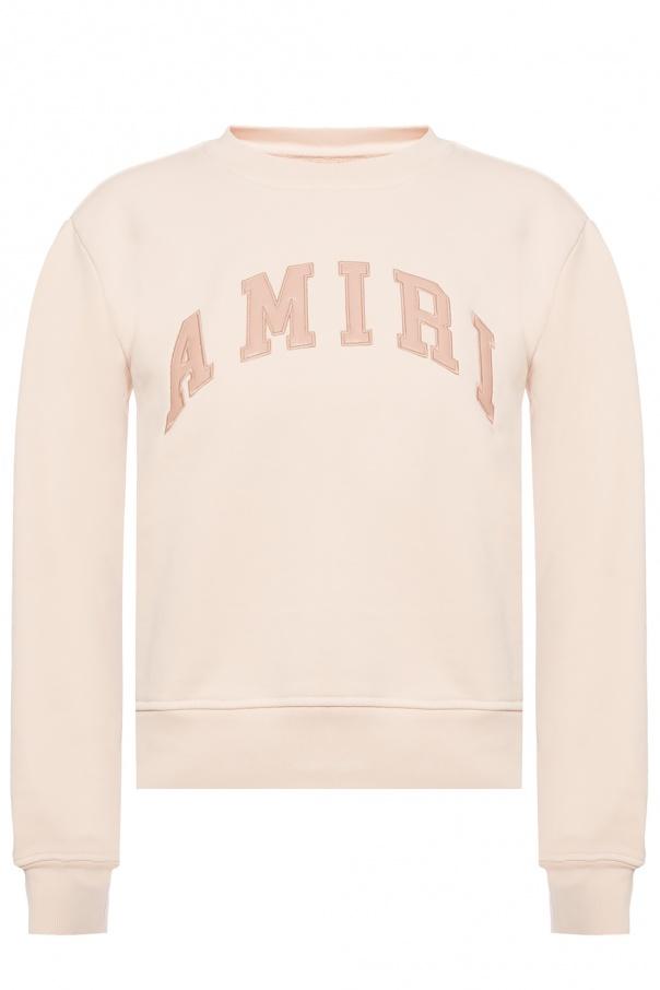 Amiri Sweatshirt with leather logo