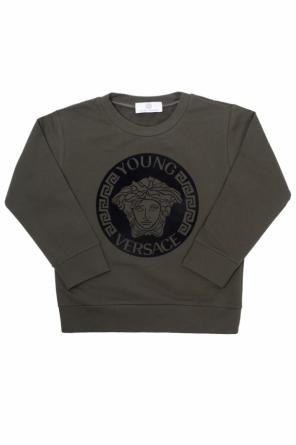 Medusa head sweatshirt od Versace Young