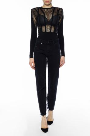 Body with sheer inserts od Balmain