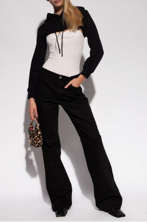 Slip bodysuit with logo od Emporio Armani