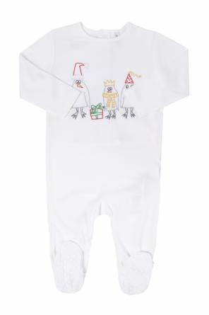 Embroidered romper suit od Stella McCartney Kids
