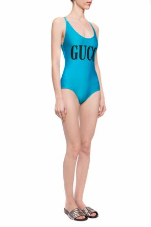 Logo swimsuit od Gucci