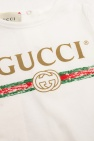 Gucci Kids Romper suit with logo
