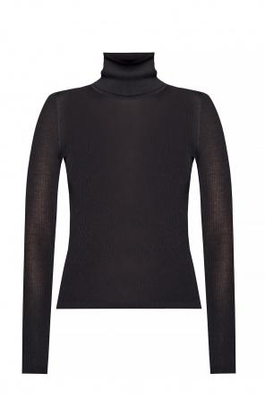 Rib-knit turtleneck sweater od Saint Laurent
