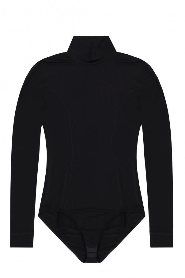 Ganni Long-sleeved bodysuit