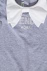 Fendi Kids Babygrow with logo