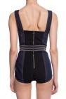 Dolce & Gabbana Denim body with straps