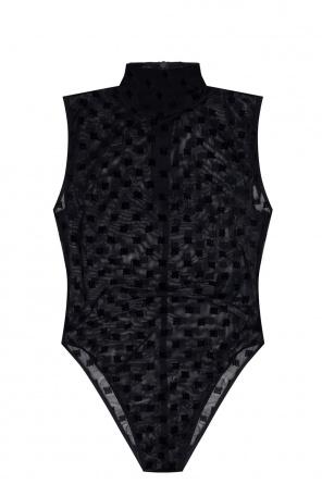 'monogram mesh' bodysuit od MISBHV