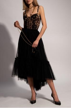 Lace-trimmed bodysuit od Dolce & Gabbana