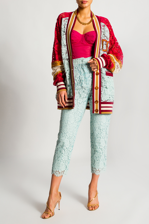 Dolce & Gabbana 透明款式无袖连体紧身内衣