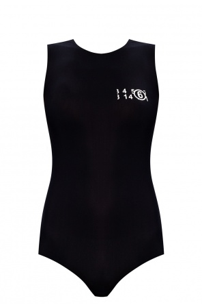 Bodysuit with logo od MM6 Maison Margiela