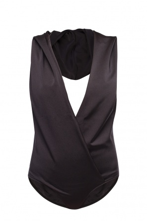 Hooded bodysuit od Balmain