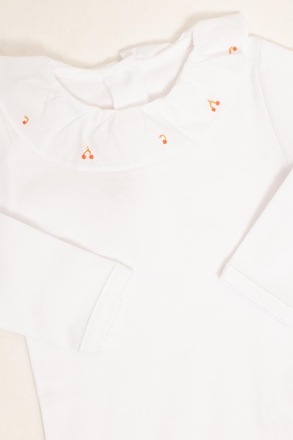 Bonpoint  Embroidered bodysuit