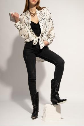'yuni' rib bodysuit od AllSaints