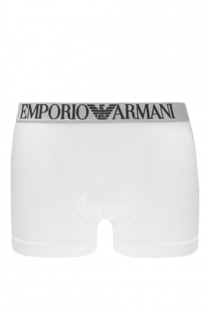 Boxer shorts with embroidered pattern od Emporio Armani