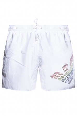 Swim shorts with logo od Emporio Armani