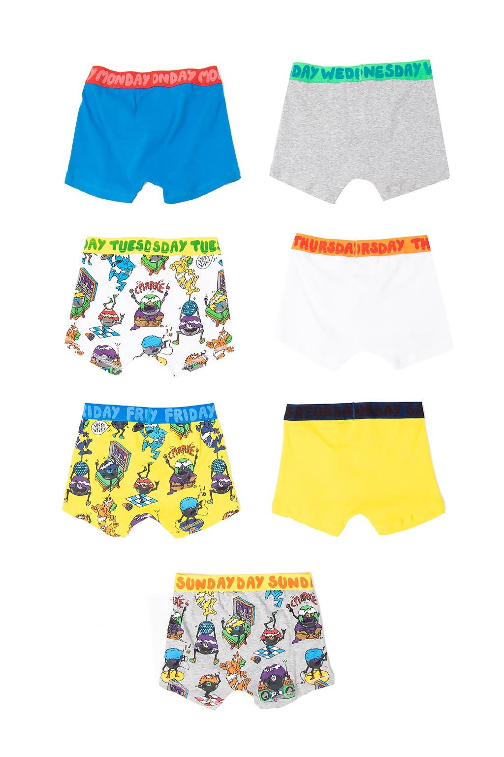 Stella McCartney Kids Printed briefs 7-pack