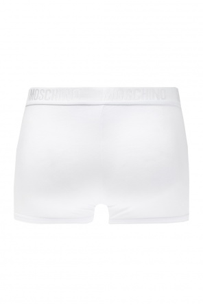 Logo-embroidered boxers od Moschino