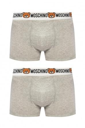 Logo briefs 2-pack od Moschino