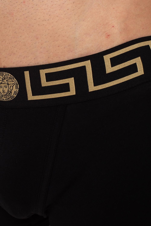 Versace Trójpak bokserek z logo
