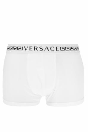 Boxers with greek motif od Versace