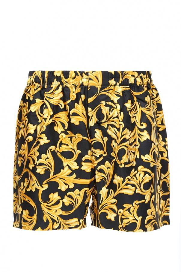 Versace Baroque-printed boxers