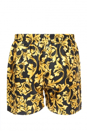 Baroque-printed boxers od Versace