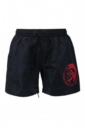 Logo swimming trunks od Diesel