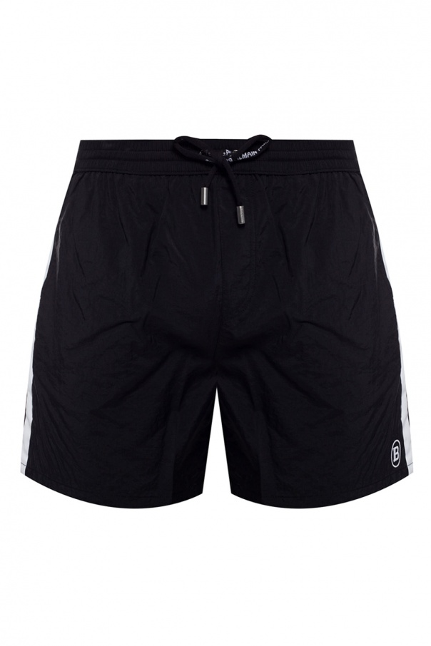 Balmain Shorts with logo