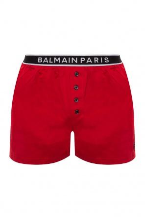 Logo boxers od Balmain