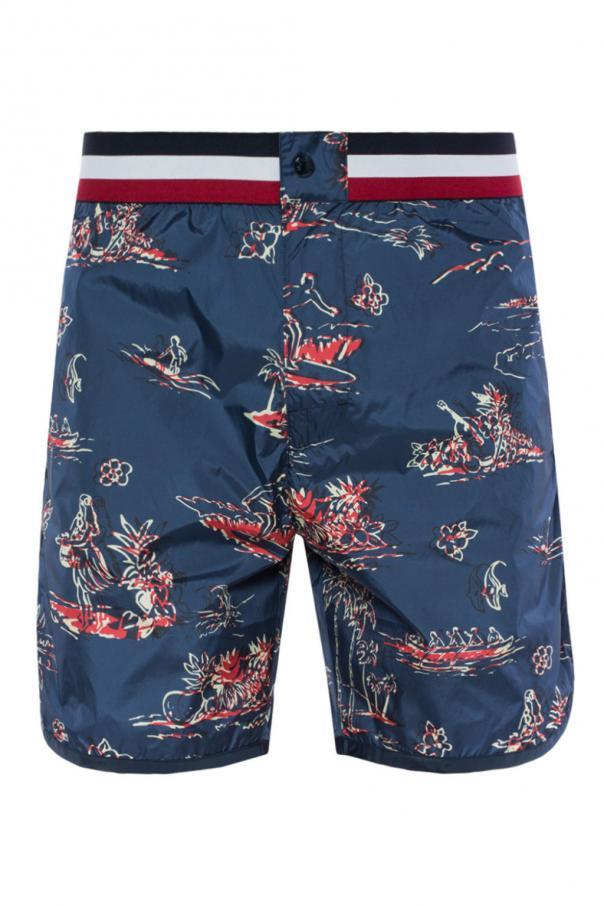 971c4d4bb2 Printed swim shorts Moncler - Vitkac shop online