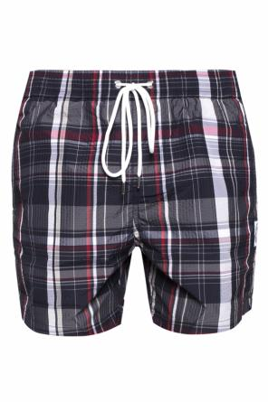 Checked swimming shorts od Moncler