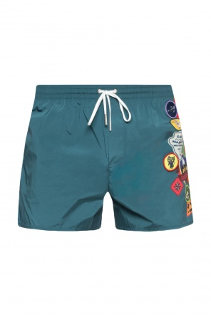 Embellished swimming shorts od Dsquared2
