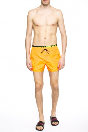 Drawstring swim shorts od Dsquared2