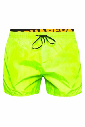 Logo-embroidered swim shorts od Dsquared2