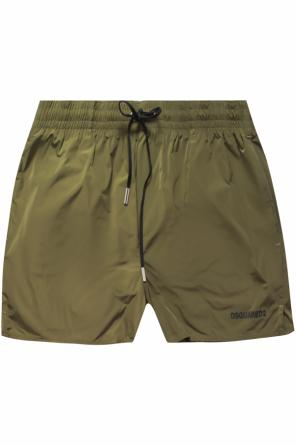 Swimming trunks with a logo od Dsquared2