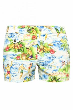 Logo-printed swim shorts od Dsquared2