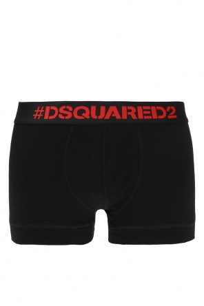 Logo-embroidered boxers od Dsquared2
