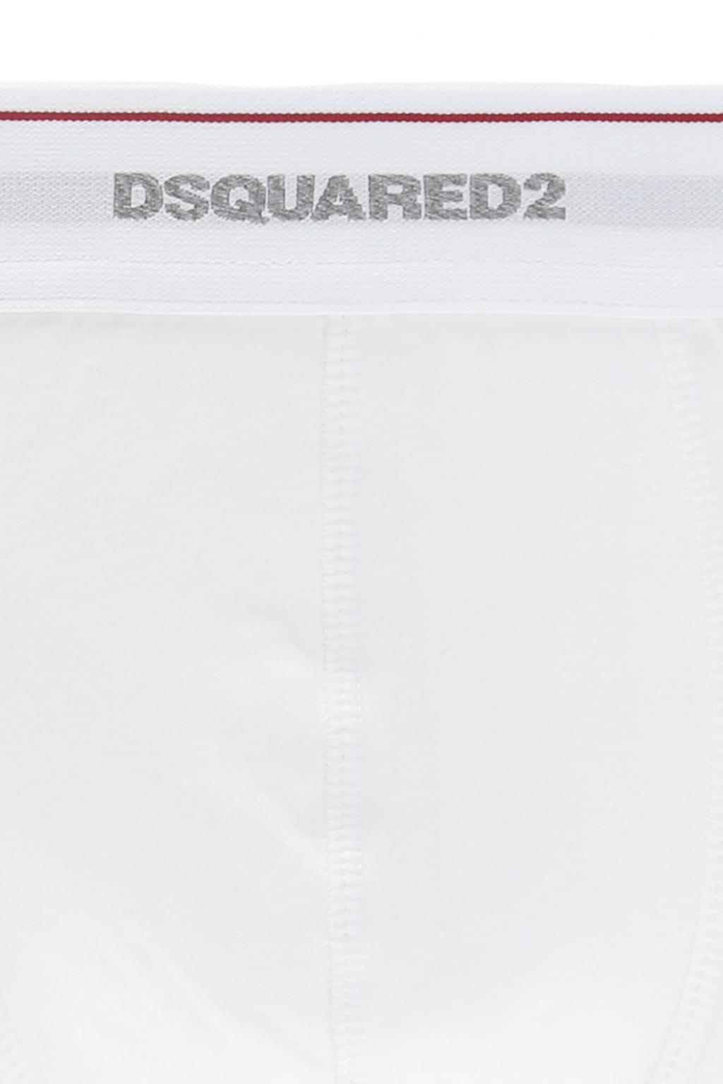 Dsquared2 Three-pack of boxer shorts with a logo