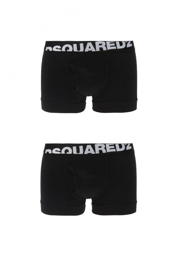 Dsquared2 Two-pack of boxer shorts with a logo