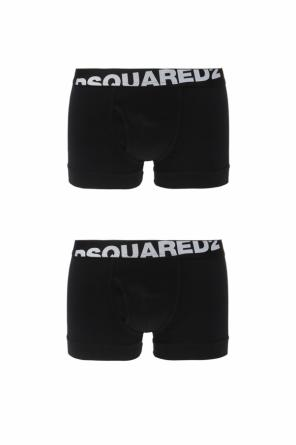 e91e49ced3 ... Two-pack of boxer shorts with a logo od Dsquared2 PERMANENT COLLECTION