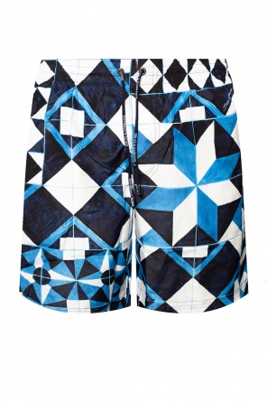 Patterned swim boxers od Dolce & Gabbana
