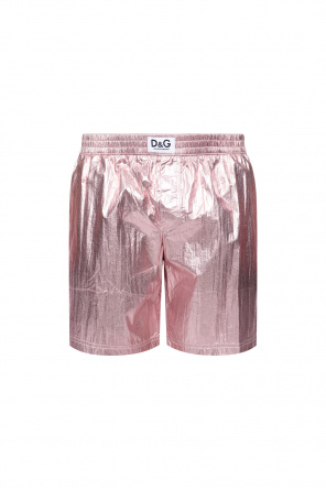 Metallic swim shorts od Dolce & Gabbana